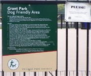Grant Park Dog Friendly Area - Chicago, IL